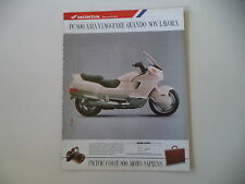 advertising Pubblicità 1990 HONDA PC 800 PACIFIC COAST