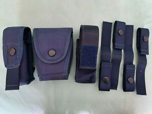 Police/Tactical pouches and belt loops for Tactical Vest