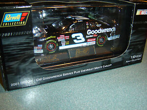 #3 Dale Earnhardt Sr 2001 Goodwrench Service plus / OREO H/O 1/43 Revell NEW