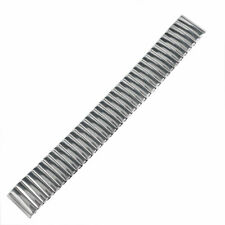 18mm Watch Band Strap Bund Strap Women Flexible Stainless Steel Watchband