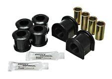 Energy Suspension 3.5212G Black Front Sway Bar Bushings 25.4mm for 94-06 Hummer