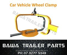 "Car Vehicle Wheel Clamp For 13""-15"" Wheels! - Trailer Parts!"