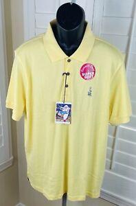 Elvis Presley Blue Hawaii Pineapple Super Soft Polo Shirt - Men's Size XL - NWT