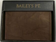 New Bailey's PT. Men's Leather Multicard Wallet Brown Color $11.99