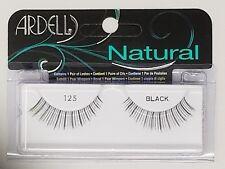 (LOT OF 72) Ardell Natural Lashes #125 False Eyelashes Fake Eyelash Lash Black