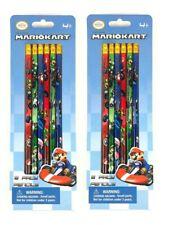 MarioKart 2 pack of 6X Pencils School stationary Supplies party favors gift