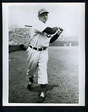 Clyde McCullough at Wrigley Field circa 1940's Press Photo Chicago Cubs