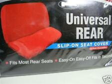 REAR UNIVERSAL WHITE SEAT COVER,THROW OVER,FIT MOST CAR, WHITE