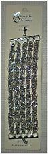 Cordelia Chain & Rhinestone Multi Strand Bracelet