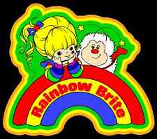80's Cartoon Classic Rainbow Brite & Sprite custom tee Any Size Any Color