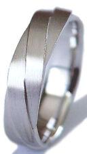 6Mm Wedding Band Ring Comfort Fit Brand New Men Palladium (Platinum Group Metal)