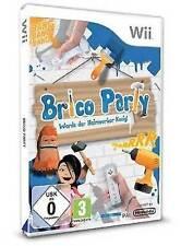 Nintendo Wii Spiel ***** Brico Party * Werde Heimwerker-König ***********NEU*NEW