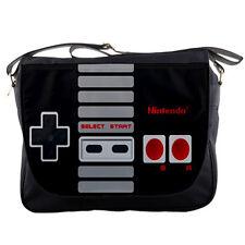 Nintendo Retro Controller School Messenger Bag Shoulder Travel Notebook Bags