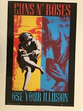 Guns N' Roses,Use Your Illussion ,Authentic,Licensed 2017 Poster