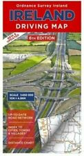 Ireland Driving Map (Irish Maps, Atlases and Guides) by Ordnance Survey Ireland