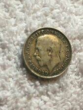 More details for 1919 king george v maundy threepence 3 pence coin.