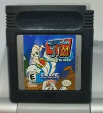 Earthworm Jim: Menace 2 the Galaxy, Gameboy, Authentic, Tested, Works Great!
