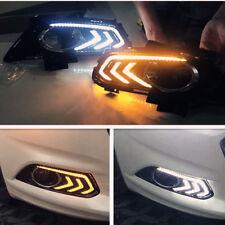 Fit For Ford Fusion 2013-2016 Fog light Daytime Running Light DRL LED Day Light