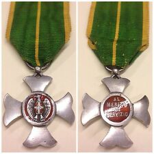 015 - Croce al merito di servizio per la Guardia di Finanza modello 1905