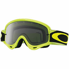 Maschera Oakley O-Frame MX Goggles Giallo Fluo Dark Grey Cross Enduro oo7029-30