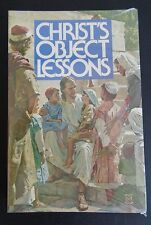 CHRIST'S OBJECT LESSONS Ellen G. White SDA Vintage 1952 Paperback NEW Book