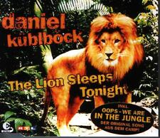 MCD Daniel Küblböck The Lion Sleeps Tonight / Oops We Are In The Jungle 2004