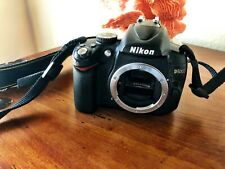 Nikon D D5000 12.3MP Digital SLR Camera - Black (Body Only) Barely Used