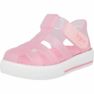 Igor Star Transparent Rosa PVC Infant Jellies Sandals