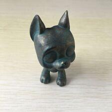 Custom OOAK LPS Bronze color Great Dane Hand Painted LITTLEST PET SHOP