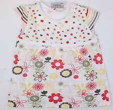 Topolino 100% Baumwolle Mädchen-T-Shirts & -Tops mit Rundhals und Blumenmuster