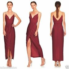 Long Regular Size Wrap Dresses