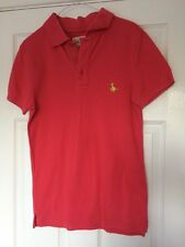 Jack Wills Polo T-Shirt Top – Salmon Pink Size XS