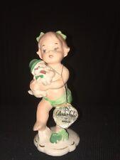 VINTAGE NAPCO CALENDAR CUTIE MARCH BIRTHDAY ST. PATRICK'S DAY IRISH GIRL W/ TAG