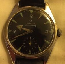 RARE Men's Vintage OMEGA Seamaster Pre Ranchero Railmaster BROAD ARROW Watch