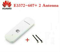 UNLOCKED HUAWEI E3372h-607 4G LTE 150mbps CAT4 USB MOBILE MODEM DONGLE + ANTENNA