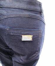 82b72ee77ba8 ESCADA Ladies Dark Wash Jeans Blue Metallic Sparkle Euro 38 US 8