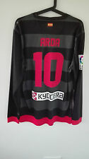 CAMISETA SHIRT ATLETICO DE MADRID PLAYER ISSUE MATCH UN WORN 12-13 ARDA TURAN XL