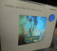 Boyzone Father and Son RARE CD Single Hologram Sleeve