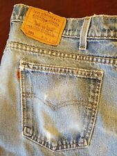 Vintage LEVIS Jeans 505 (40505-0215), Orange Tab, 38x31, Made in USA modified
