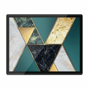 Placemat Mousemat 8x10 - Abstract Art Deco Marble Effect  #21082