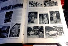 L'illustrazione italiana- A.L n.35-1923( La settimana abruzzese-Il lago d'Orta )