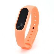 M2 Bluetooth Fit Smart Sports Bit Pedometer Watch Band for Android iPhone Orange