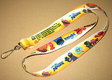 Sesame Street : Once Upon a Monster very rare promo Lanyard