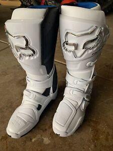 2021 Fox Racing Instinct Boots - Men's Size 10 White/white. Brand New