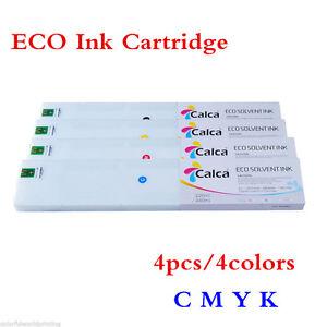 4pcs 4 Colors Calca 440ml Compatible Mimaki SS21 ECO Ink Cartridge