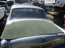 Rolls Royce Silver Spirit/Bentley Turbo R Tapis de coffre en vert