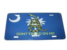 South Carolina Gadsden Flag License Plate 6 X 12 New Aluminum Made In The USA
