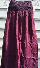 LITTLE WHITE LIES CICELY Dress Dark Red Size SMALL