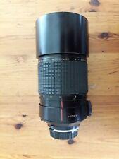 CANON FD SIGMA 600mm f8 MIRROR LENS