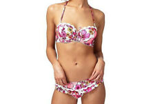 5752888e5f Frost French Floozie 2 Way Daisy Print Scalloped Trim Bikini Size 32dd   10